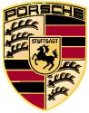 Premium parts logo PORSCHE