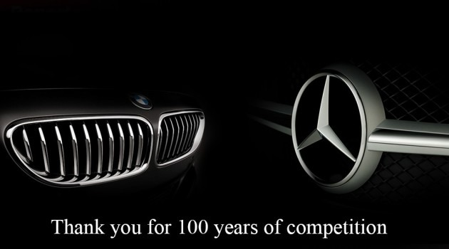 premium parts 100 anios BMW vs. Mercedes
