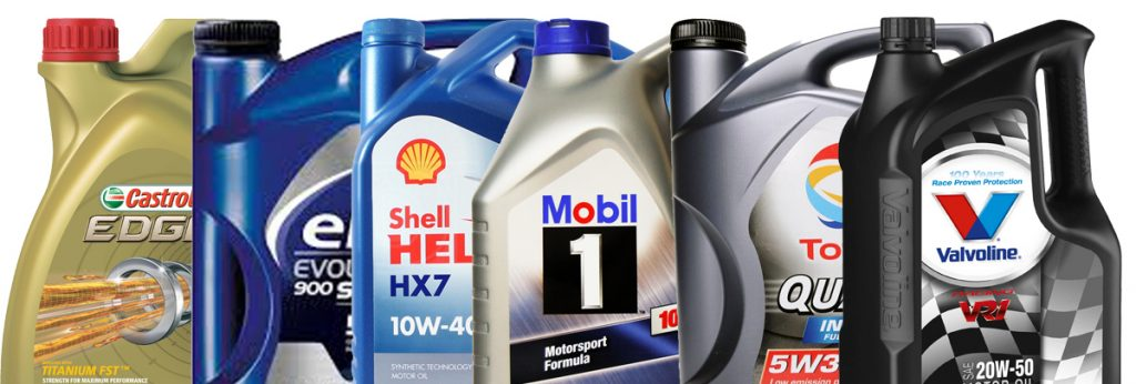 Marcas de lubricantes